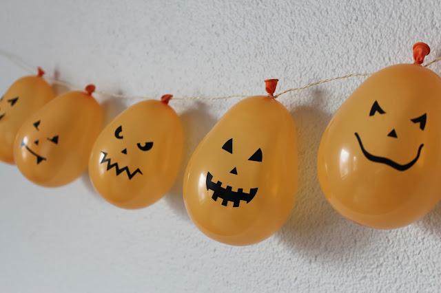 Diy halloween girlande ars vera e diy blog f r - Halloween girlande ...