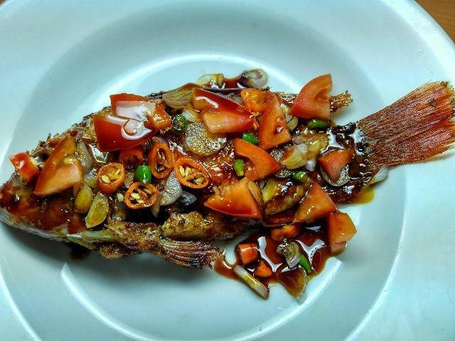 Resep Ikan Goreng Sambal Kecap