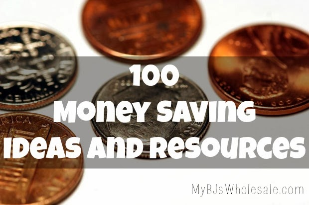 Over 100 tips and ideas to help you save money!