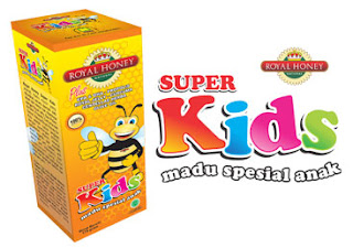 Madu Natural Royal Honey Super Kids