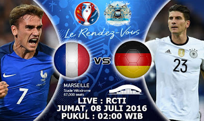 Watch Match Germany vs France today directly European Champions League
