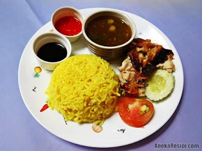 resepi nasi ayam simple dan sedap