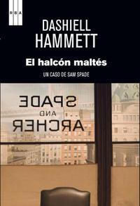 Portada del libro el halcón maltés para descargar en pdf gratis