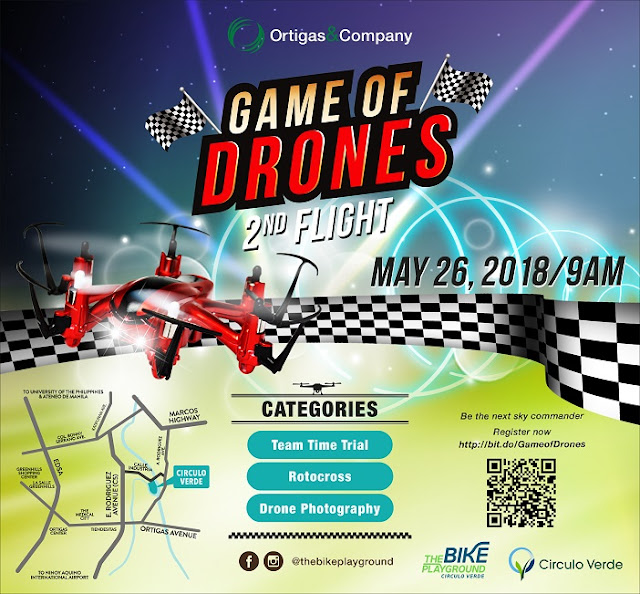 Game of Drones Contest 2nd Flight