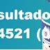 Resultado Quina/Concurso 4521 (01/11/17)