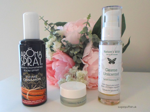 Reviews for Love Lula - Ere Perez Cranberry Lip & Eye Butter, Nature's Wish Unscented Facial Cleansing Oil, Saint Come Aromaspray