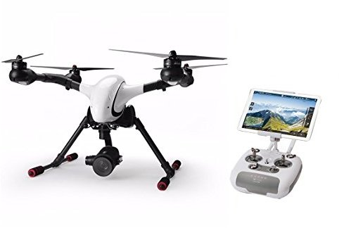 The Walkera is i of the companies that contribute to the drone code opened upwards origin projection  Walkera Voyager four Review - The Competitor of DJI INSPIRE 1?