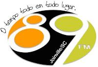 Rádio 89 FM 88.5 de Joinville SC