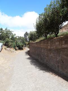 camino de cemento