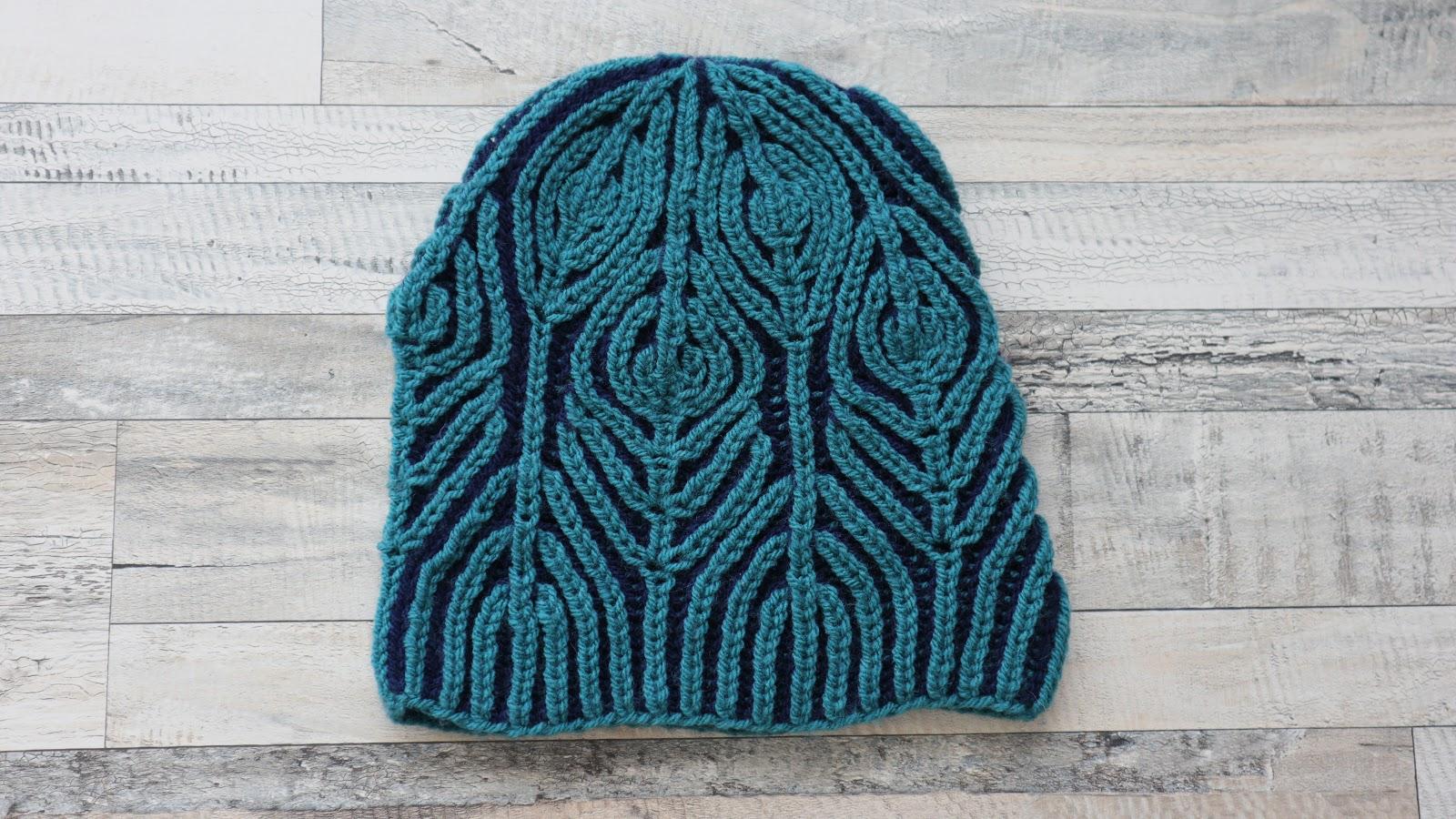 Interweave Hat - Brioche Knitting