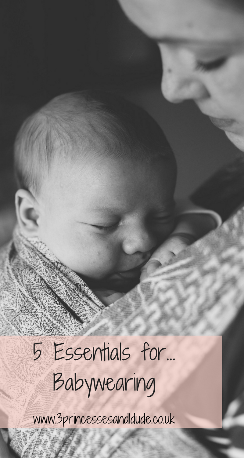 5 essentials babywearing