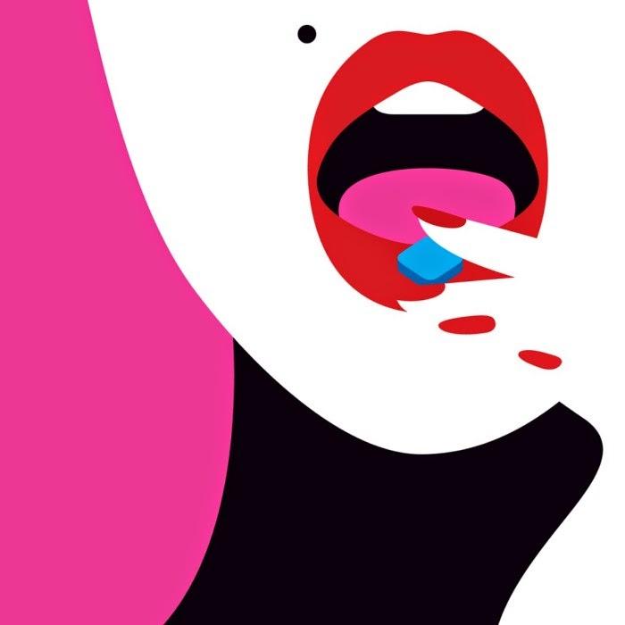 Эротические рисунки и иллюстрации. Malika Favre
