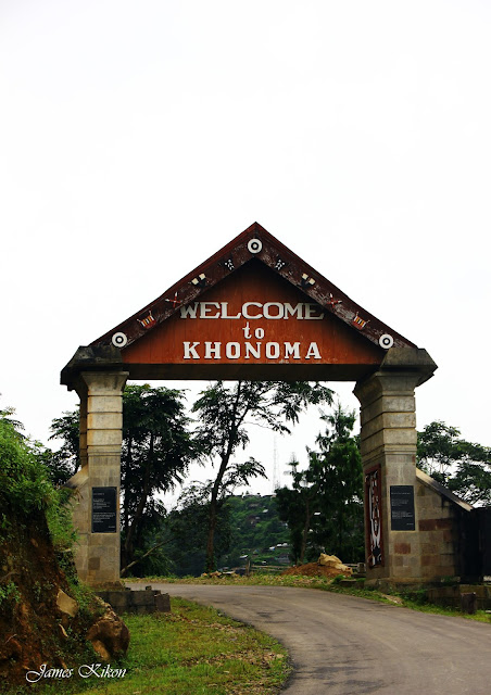 Welcome to khonoma village green village in kohima nagaland