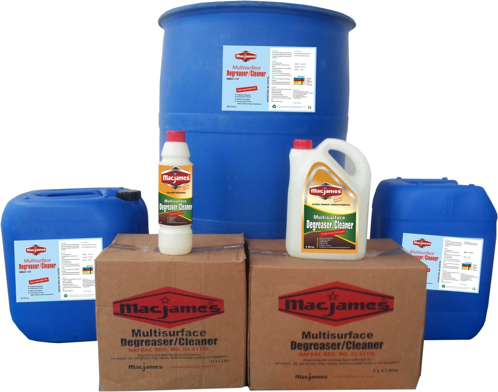 MACJAMES® MMDC-11 - MULTISURFACE DEGREASER/CLEANER