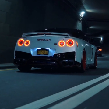 Two Nissan GT-R in NY Wallpaper Engine