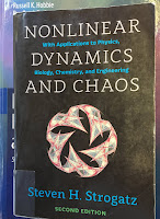 The second edition of Nonlinear Dynaics and Chaos, by Steven Strogatz
