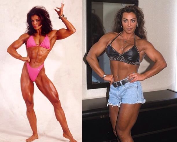 Sharon Bruneau bodybuilder and fitness model. Biography