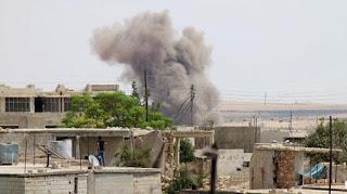 Artileri Militer Syiah Suriah Kembali Hujani Pedesaan Idlib