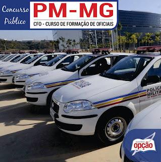 Apostila PM MG CFO 2018 da Polícia Militar - MG.