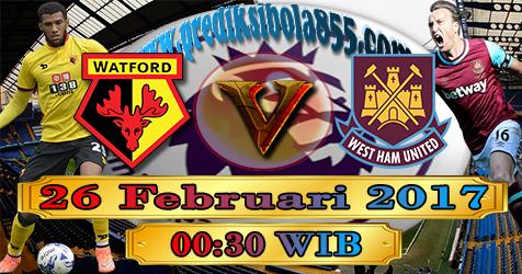 Prediksi Watford vs West Ham United 26-2-2017