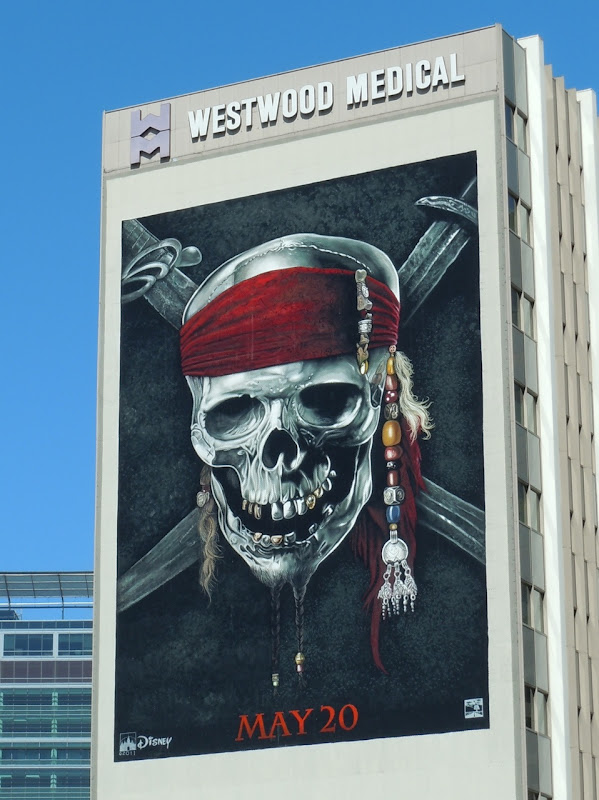 Pirates of the Caribbean On Stranger Tides billboard