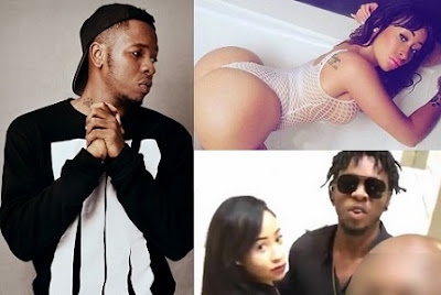 Shocker!! UK Model Claims She's 3 Months Pregnant for Runtown… Shares Proof