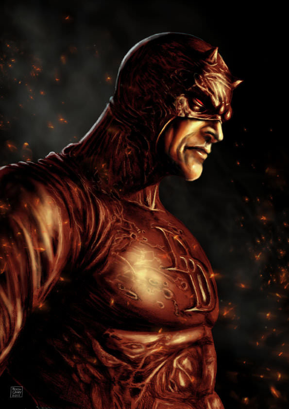 daredevil art in daredevil season 2 review