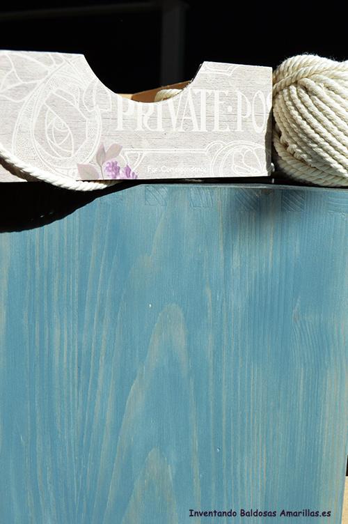 Pintar madera para que se vea la veta