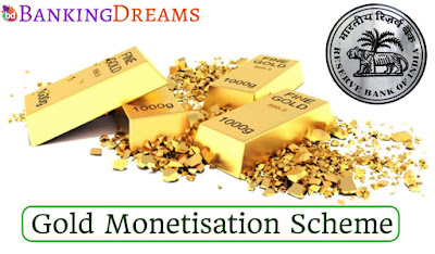 RBI made changes in Gold Monetisation Scheme
