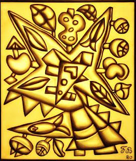 A Grande Estrela [Francisco Brennand] (1980) Óleo sobre Tela