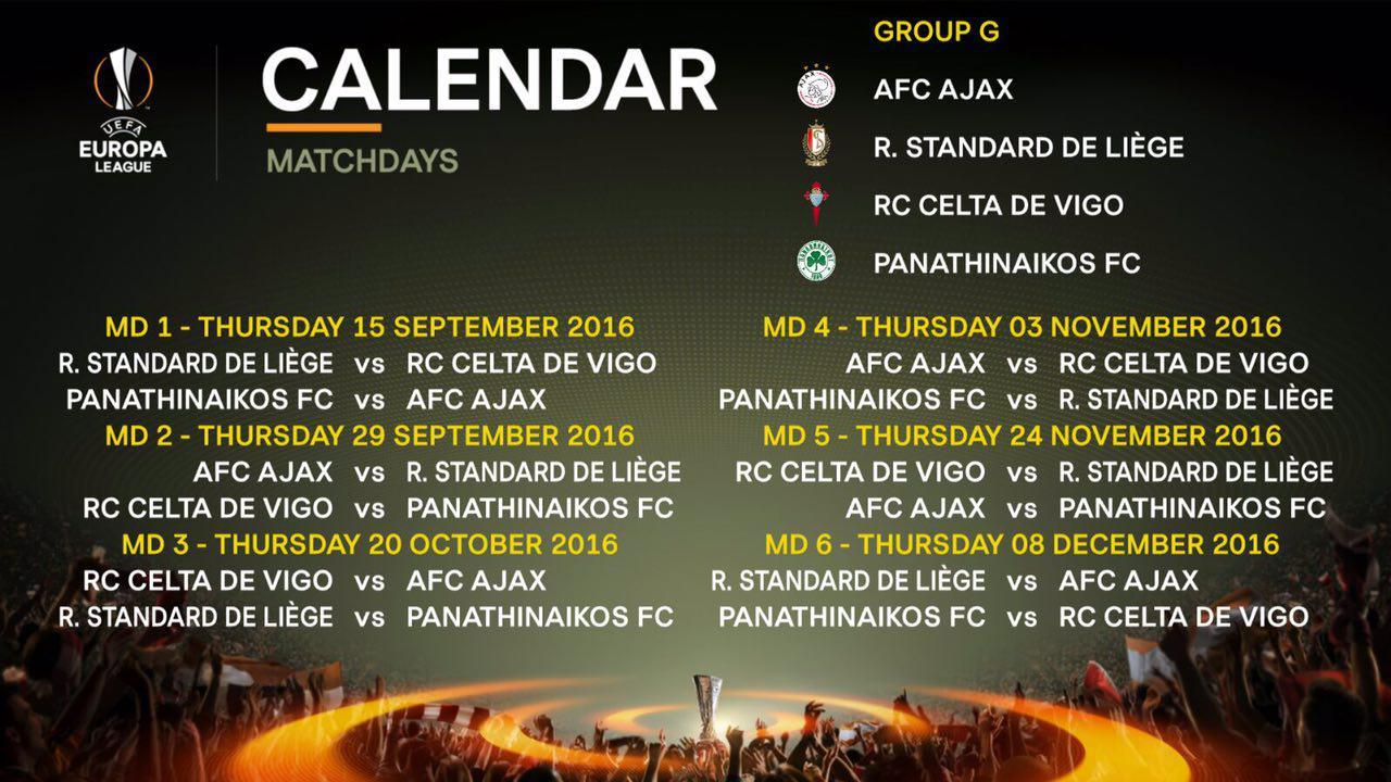 Calendario Celta Vigo.El Calendario Del Celta En La Europa League Celta De Vigo Moi Celeste