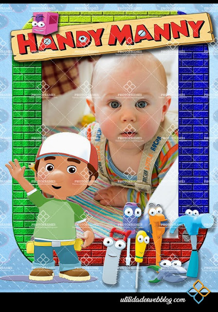 Handy Manny Birthday Frame and Printable