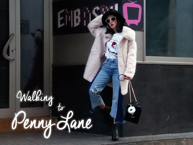 fashion, moda, look, outfit, blog, blogger, walking, penny, lane, streetstyle, style, estilo, trendy, rock, boho, chic, cool, casual, ropa, cloth, garment, inspiration, fashionblogger, art, photo, photograph, Avilés, asturias, zara, jeans, Florida, coat, ripped, worn