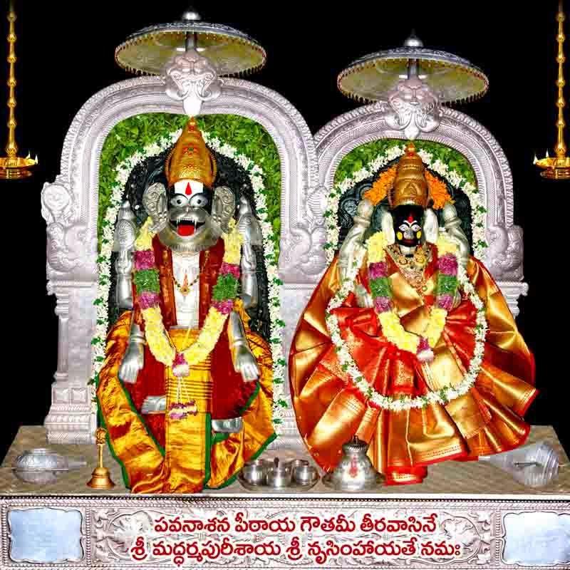 Raghu S Column Sri Lakshmi Narasimha Swamy Temple Dharmapuri