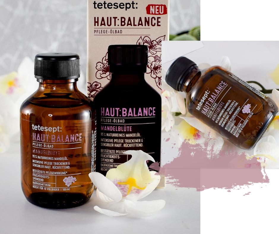 tetsept Hautbalance Pflegeölbad Mandelblüte, Beautypress Newsbox