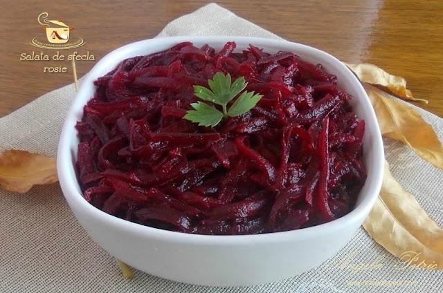 Reteta salata de sfecla rosie
