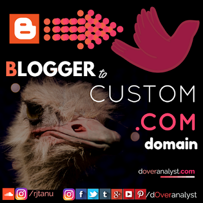 www.doveranalyst.com from blogger to a bird flying to custom domain