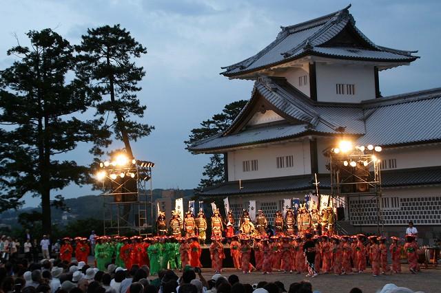 Kanazawa Hyakumangoku Festival (parade of tradition), Kanazawa City, Ishikawa Pref.
