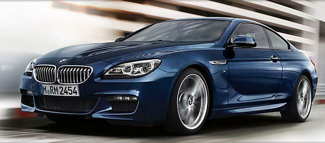 2017 BMW 6 Series Coupe Rendering Exterior