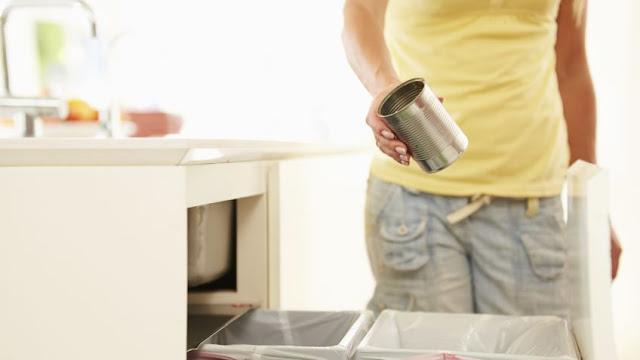 Cómo eliminar el mal olor de tu cubo de basura
