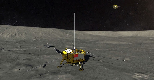 Chang'e-4 is expected to land on the far side of the Moon in the next few days. /CGTN Photo