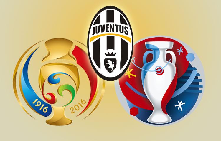Bianconeri na Euru i Copa America