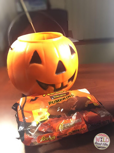 ask family members to send in bags of candy for game prizes