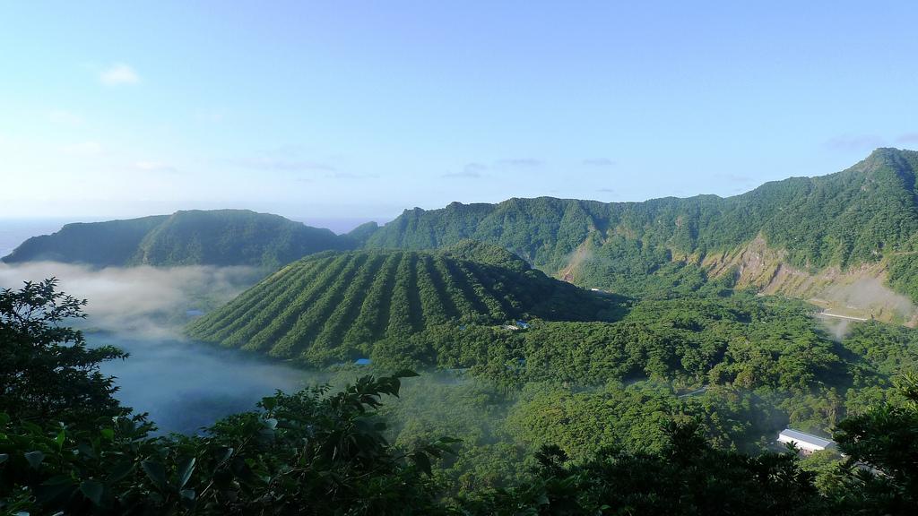 World Travel Places: Aogashima Volcano, Japan