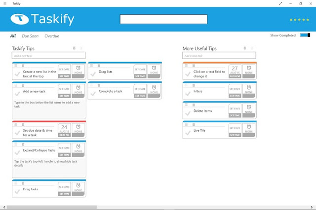 Taskify windows 10