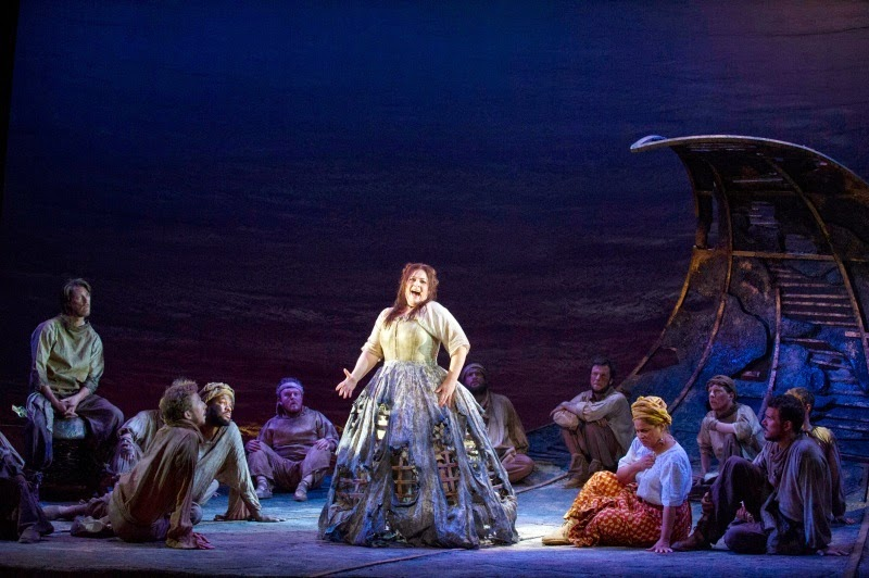 Donizetti: Wild Man of the West Indes - ETO, Sally Silver - Photo credit Richard Hubert Smith