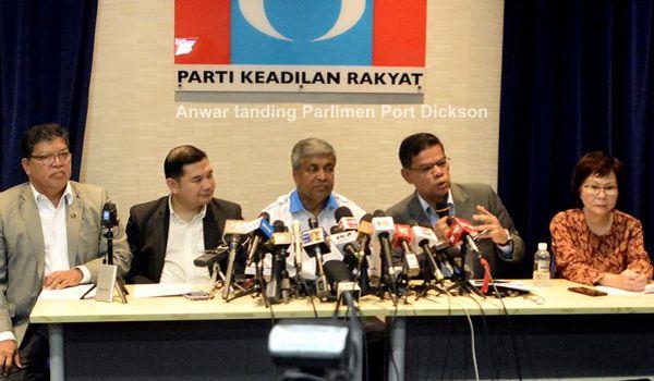Anwar tanding Parlimen Port Dickson