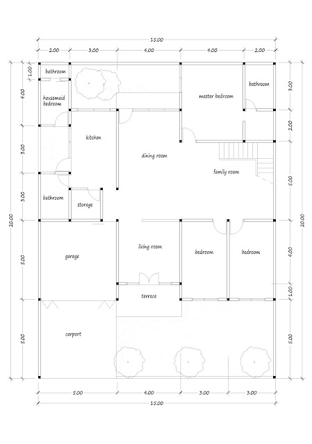 Luxury house plan 03