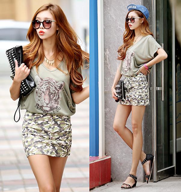 Model Rok Mini Artis Kpop Korea Import Murah