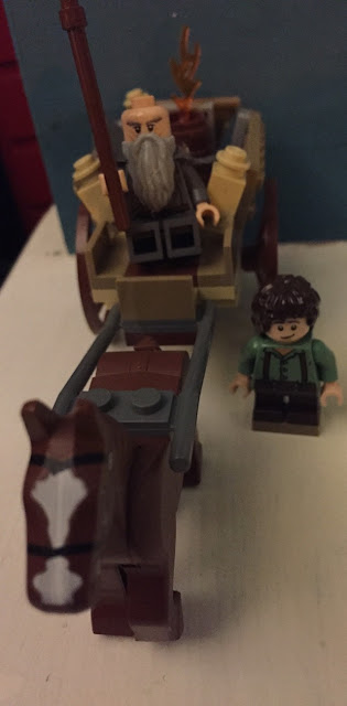 Lego Lord of the Rings Gandalf Arrives